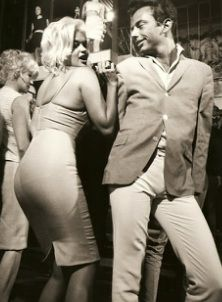 Jayne Mansfield and the now forgotten Nino Temple in a scene that anticipates Disco movies by a couple of decades.