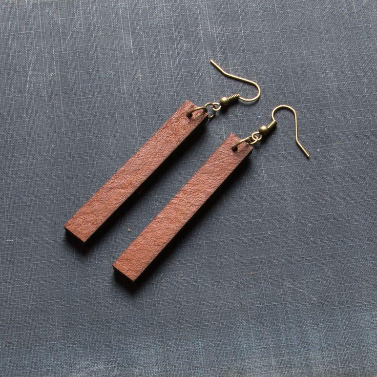 Leather Drop Earrings - Magnolia Market | Chip & Joanna Gaines – The Magnolia Market