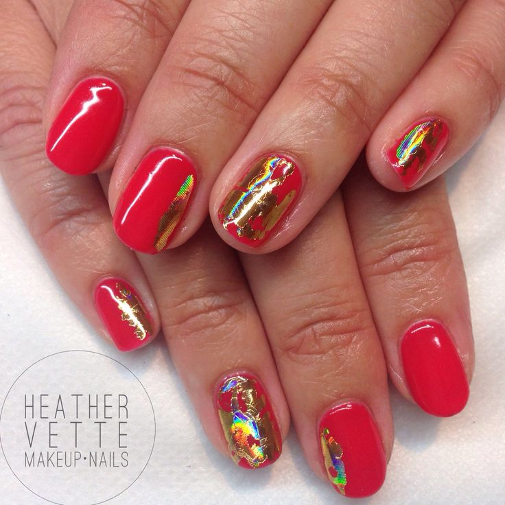 CND 'Lobster Roll' with gold foil detailing