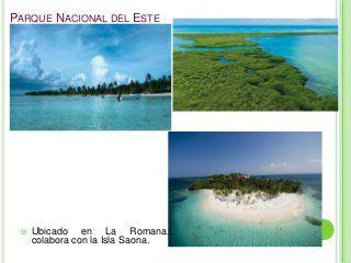 Areas protegidas de rep. dom. diapositivas