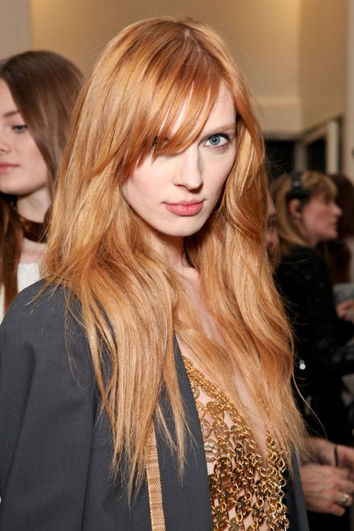 I adore strawberry blonde! I WANT THIS COLOR