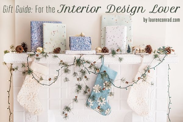Gift guide for the interior design lover lovers for Christmas gifts for interior designers