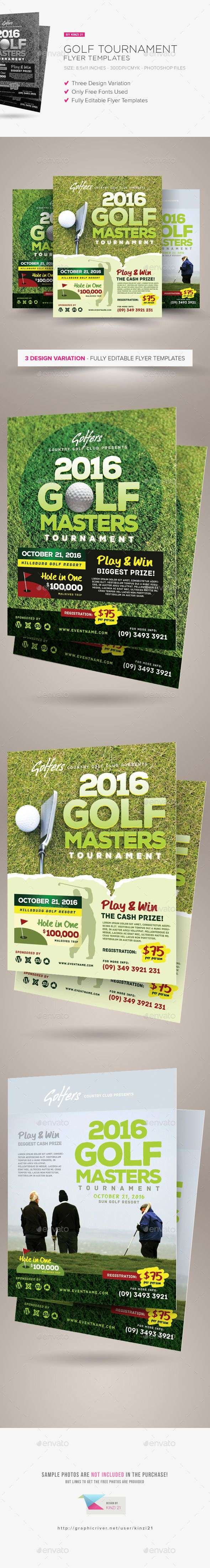 8 best golf poster ideas images on pinterest golf invitation cards and flyer template. Black Bedroom Furniture Sets. Home Design Ideas