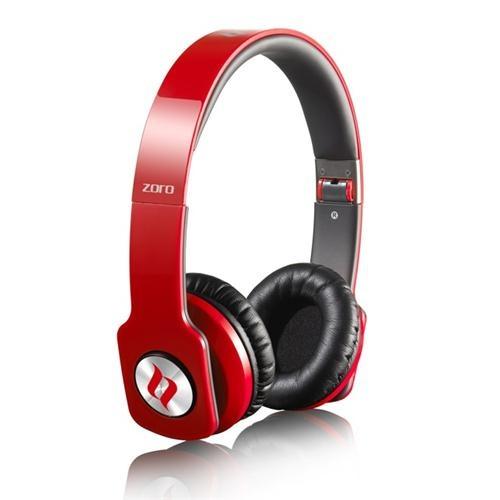 Noontec Zoro Stereo Kulaklık Kırmızı