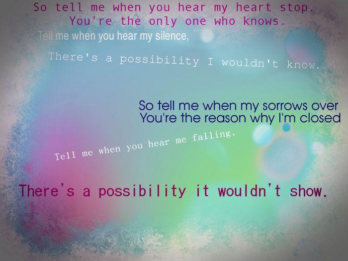 """Possibility"" by Lykke Li"