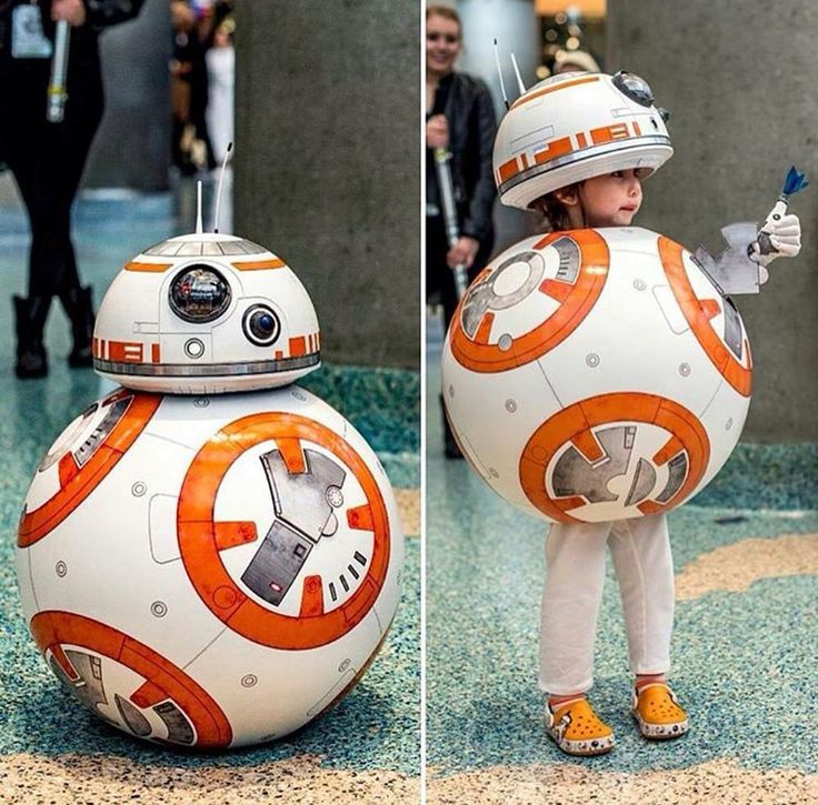 Awesome BB-8 cosplay.