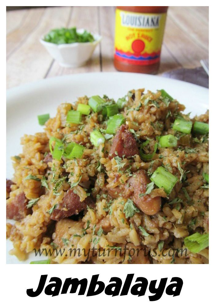 The Best Authentic Jambalaya from New Orleans!  Mardi Gras celebration food!  Cajun Recipes