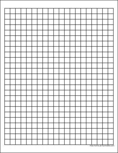 centimeter graph paper free