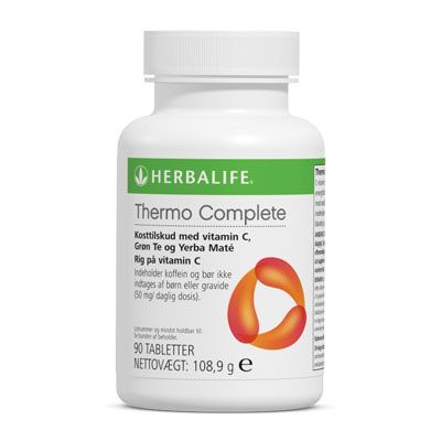 Herbalife Thermo Complete provides caffeine to give you a mental lift by helping to improve concentration and increase alertness.