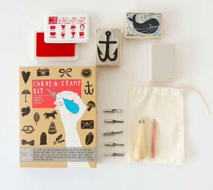 Kit de tampons Yellow Owl Workshop, cadeaux à moins de 50 euros