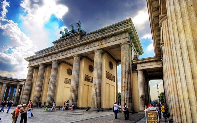Brandenburg Gate in Berlin http://goo.gl/7kt2ta