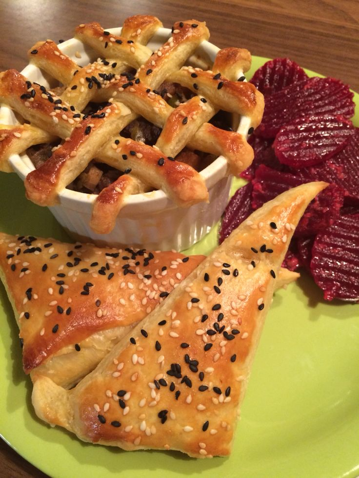 how to make beef pies with puff pastry