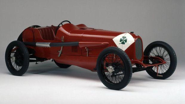 quadrifoglio verde RL TF 1923: o primeiro Alfa a ostentar o trevo verde