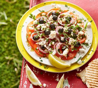 Kruidige Marokkaanse tomatensalade - Recept - Jumbo Supermarkten