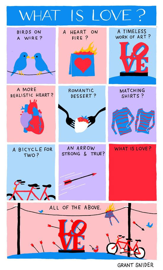 "What Is Love? INCIDENTAL COMICS:  ""The hardest part of writing about love is choosing just one metaphor.""  http://www.incidentalcomics.com/2013/02/the-hardest-part-of-writing-about-love.html"