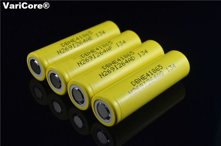 New Original HE4 2500mAh Li-lon Battery 18650 3.7V Power Rechargeable batteries Max 20A,35A discharge For LG E-cigarette  Price: 15.86 USD