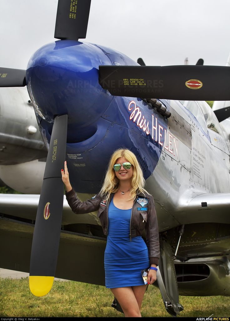 """P-51 Mustang - """"Miss Helen""""."""