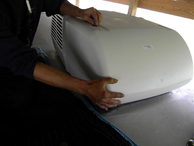 Complete step-by-step fully illustrated article on how to install a Coleman RV rooftop air conditioner.  Includes a question and comment sections for any problems you may encounter while installing or replacing a Coleman RV AC.