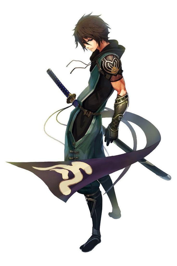 Anime Characters Katana : Best images about anime guys on pinterest katana