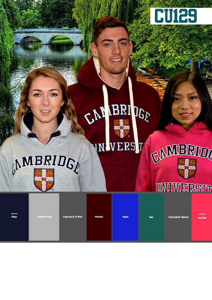 Official Cambridge University Apparel - available from many stores around Cambridge