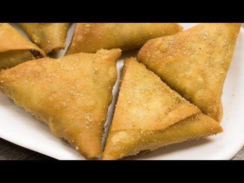 Irani Samosa Recipe | Crispy Hyderabadi Onion Vegetables Samosa | Easy Evening Snacks - YouTube