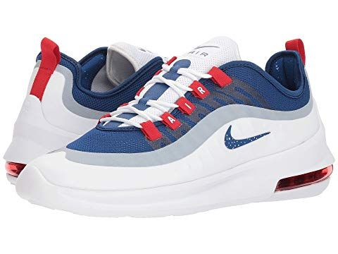 94ab4dccb025d NIKE Air Max Axis, WHITE/GYM BLUE/GYM BLUE/UNIVERSITY RED. #nike ...