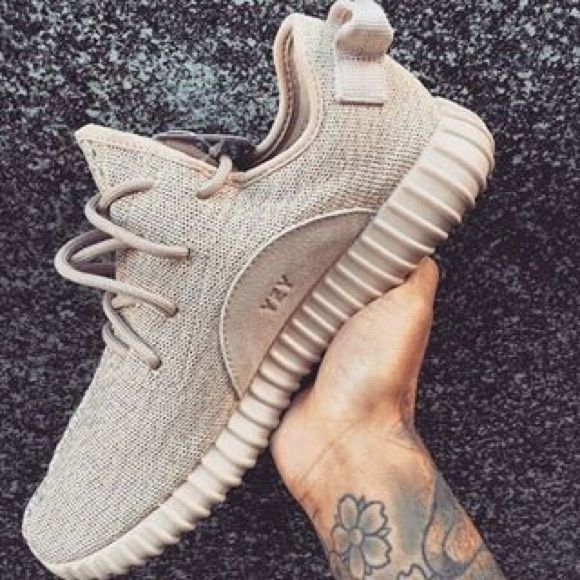 Adidas Yeezy Boost 350 SZ. 8.5 Oxford Tan. Adidas Yeezy Boost 350 Oxford Tan Designed by Kanye West Size 8.5 in women's. AS PICTURED ABOVE. Has adidas symbol and yeezy symbol as well. Comes with box. 100% Highest Quality.    I am happy to take reasonable offers only. Please contact me with any questions. Thank you! Yeezy Shoes