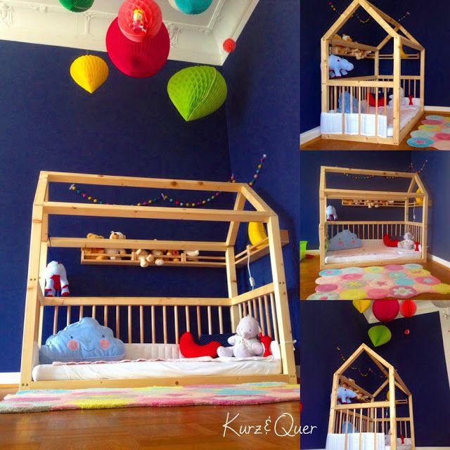 ber ideen zu hausbett auf pinterest kinderbett. Black Bedroom Furniture Sets. Home Design Ideas