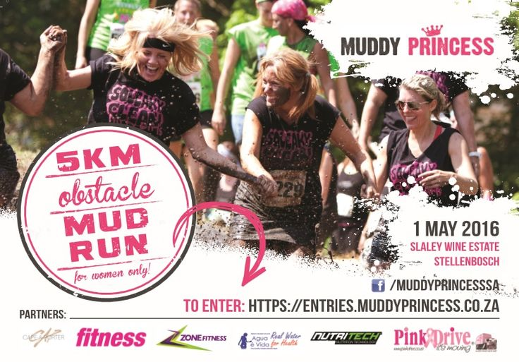 Ladies, catch our #Montagu stand at the #MuddyPrincess #1 5km obstacle mud race on Sunday, 1st May at Slaley #Wine Estate! We've sponsored some seriously #yummy #snacks for the participants' goodie bags. Have you entered yet? We can't wait!