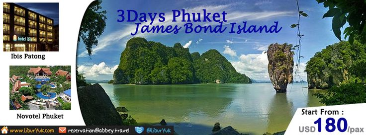 liburan ke Phuket-Thailand yuk. http://liburyuk.com/listpackage/3D+PHUKET+JAMES+BOND+ISLAND   #JamesBondIsland #Beach #Thailand #Phuket #LiburYuk #Jalan2 #Holiday #AbbeyTravel