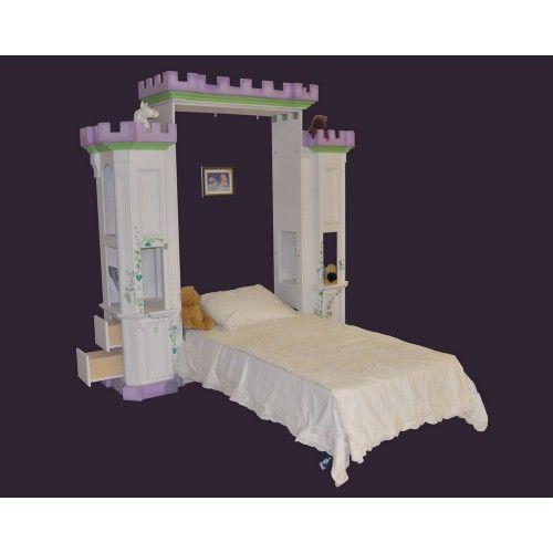 Castle murphy bed tilt away beds kids room ideas pinterest murphy beds princesses and - Pinterest murphy bed ...