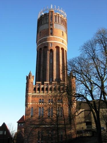 The Watertower in Lüneburg, Germany.
