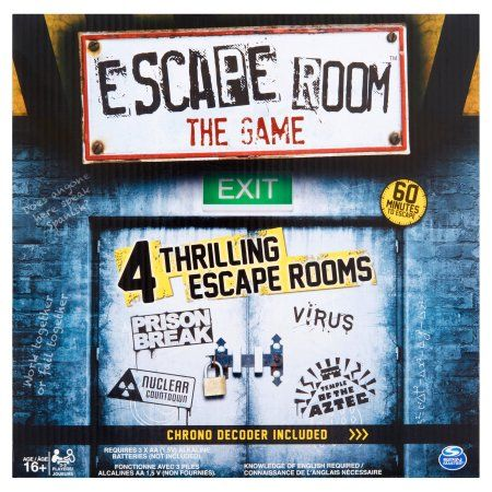 Spin Master Escape Room The Game, Age 16+, Players 3-5, Multicolor