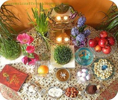 Another Haft-seen table.  If you click on the web site there is a great explanation of the meaning of each item.