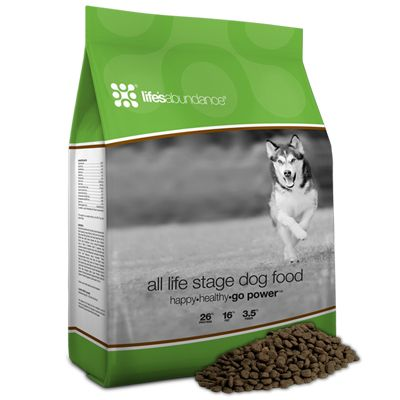 All Stage Dog Food. High quality dog food for a healthy pet. Is autoshipped directly to your home. Breeders can earn free food!