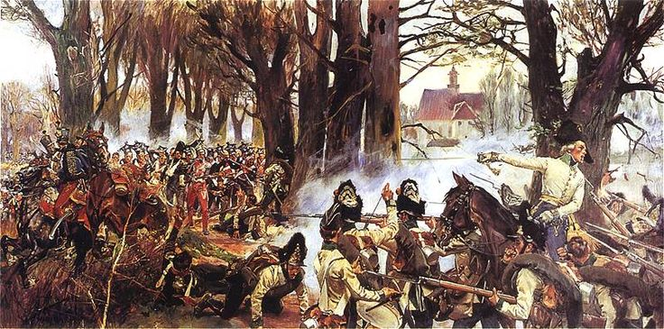 """The battle of Raszyn, 1809"""