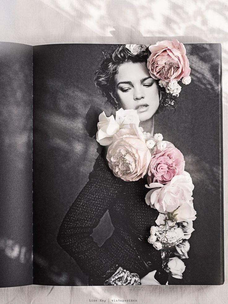 Fading flowers & Chanel (vintagepiken)                                                                                                                                                     More