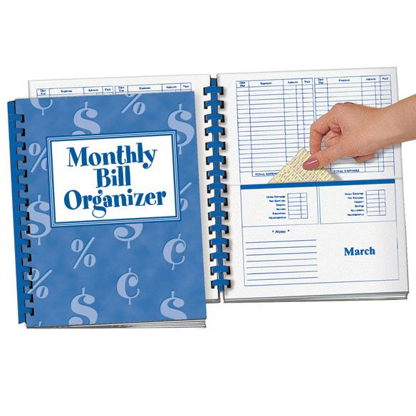 Organize And Track Your Bills In One Handy File Folder