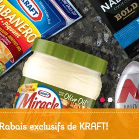 #Coupons #Rabais Par Kraft!