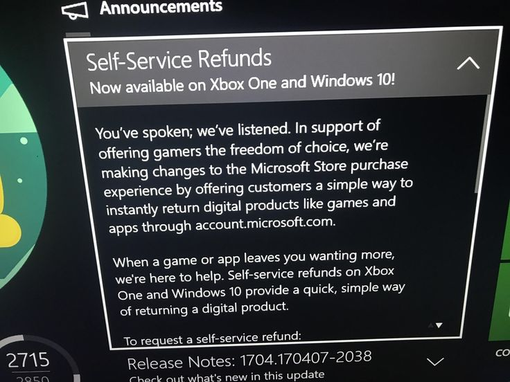 Microsoft To Offer Refunds On Digital Xbox One And PC Games
