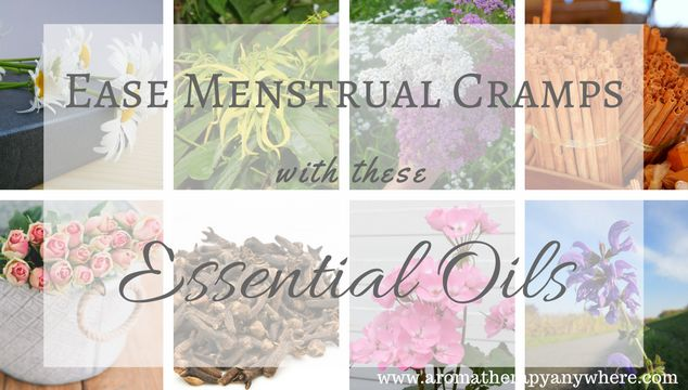 Aromatherapy for menstrual cramps works by inducing the relaxation response. These essential oils for menstrual cramps have been known to work very well.