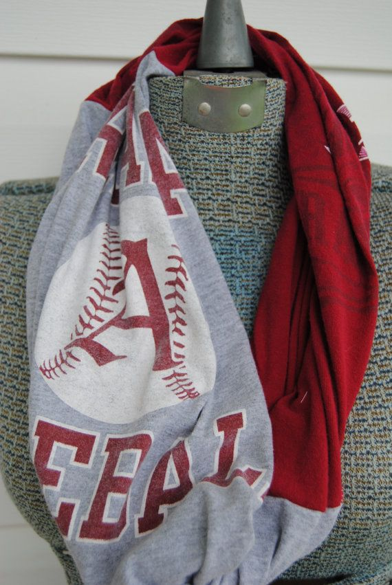 Arkansas Razorbacks Baseball Upcycled TShirt by SeasonedWithStyle, $14.00