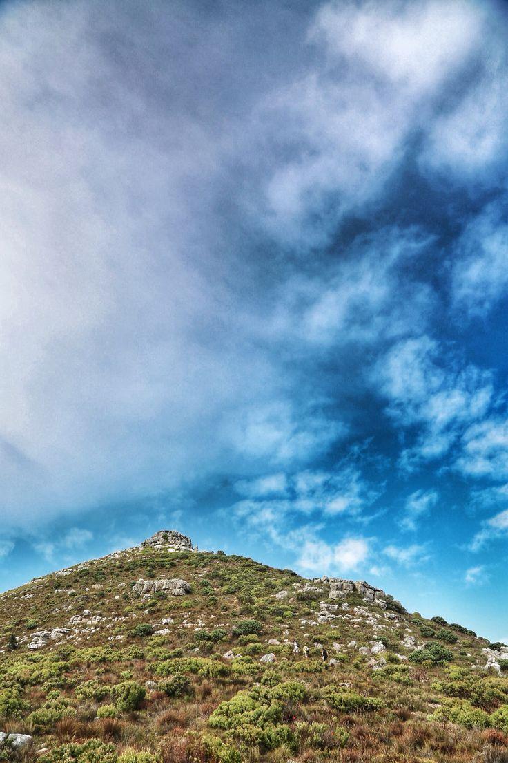 Beautiful Cape Town hiking trails.