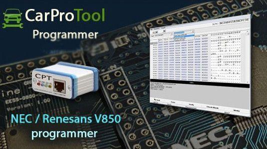 Aktywacja NEC #Renesas V850 dla CarProTool do układów uPD70F3383(A), uPD70F3383(A1) .
