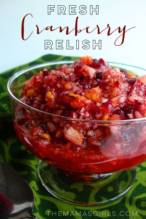 Fresh Cranberry Relish - 1 pkg. fresh cranberries - 1 medium orange, seeds removed, (do not peel) -  2 cups sugar
