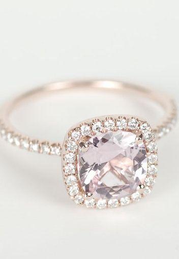 Gorgeous rose ring! | http://mysweetengagement.com/galleries/engagement-rings