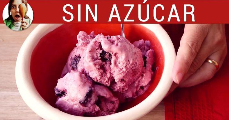 Apunta la receta de este helado sin azúcar perfecto para diabéticos.