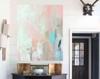 Large Canvas Art Amanda Faubus Gold Leaf Original Painting