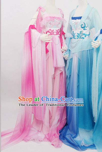 Traditional Chinese Imperial Royal Court Dress Hanfu Clothing Classical Empress Costumes Complete Set for Women