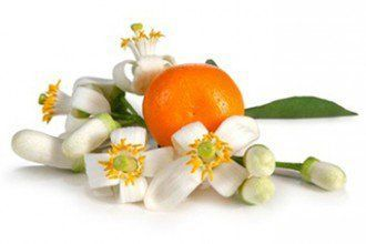 10 Amazing benefits and uses for orange blossom water Clear, perfumed, orange blossom water, is actually a by-product of the distillation process that creates the essential oil, from bitter-orange blossoms. The flower water has been used